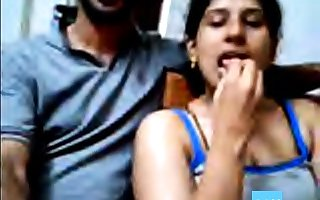 Ajay with an increment of Raveena Indian webcam clip