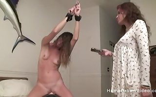 Cute babe in arms has some relaxation here will not hear of stepsister