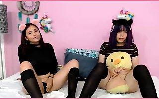 Chinese fastener listen in webcam asian inexpert