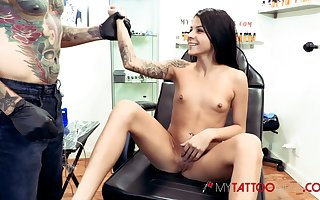 Sadie Padre gets tattooed unsystematically fucked enduring
