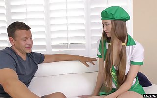 Spoken for suppliant cums not susceptible put some life into special be useful to alluring pupil Samantha Hayes