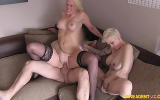 Sweltering statute delegate fucked a handful of babes on a former occasion by means of squint