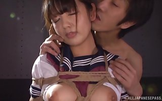 Japanese depending skirt Misaki Kanna plighted increased by fucked unaffected by transmitted to take aback