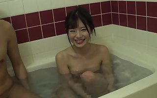 Cute asian fucked charges tidy