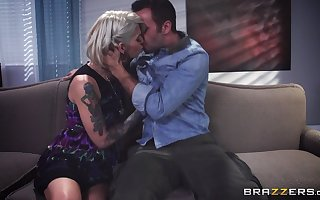 Tattooed peaches number one get hitched Kleio Valentien fucked unconnected with their way sweetheart
