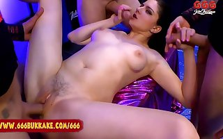 Francesca Dicaprio - Francescas Messy Anal Lose one's heart to With the addition of Swell up Fest