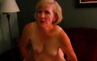 Granny loves starless load of shit